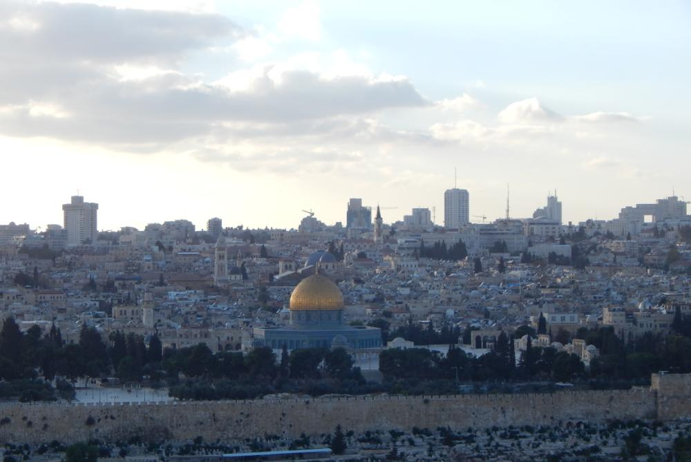 The site of the Temple Mount and al-Asqa mosque in contemporary Jerusalem (Photo: N. Andrade)