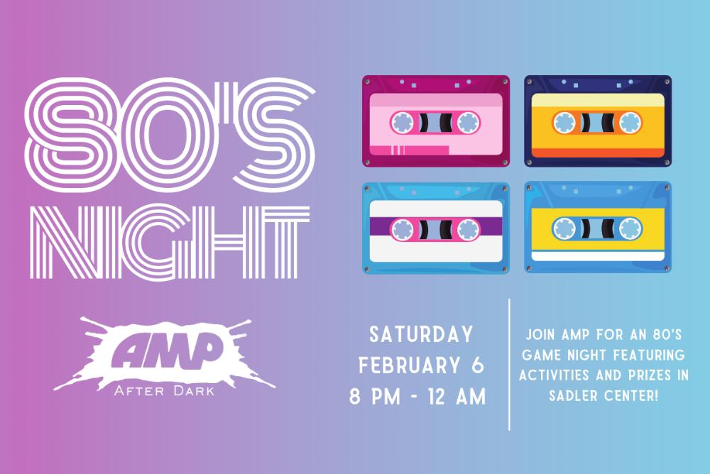 '80s Night Graphic
