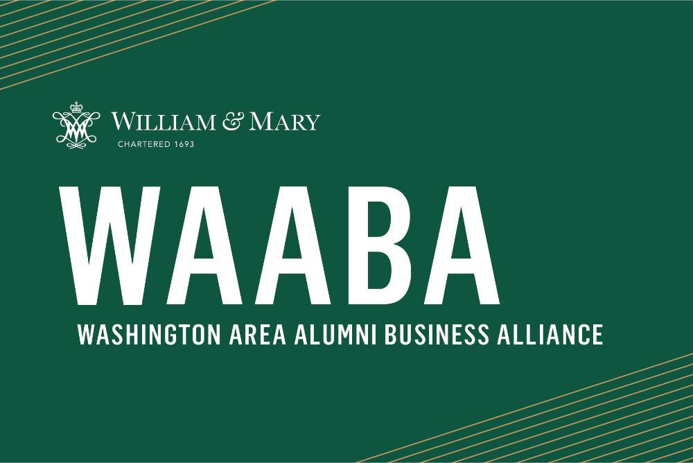 WAABA logo, alumni, dc