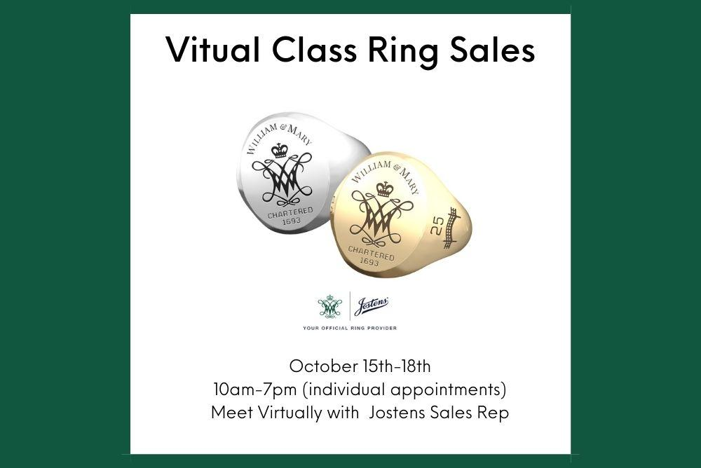 Virtual Class Ring Sales