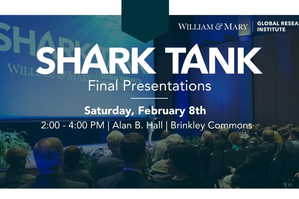 Global Research Institute Shark Tank Competition Advertisement
