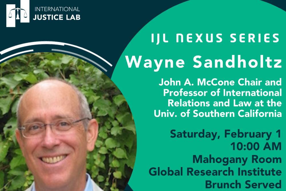 IJL Nexus Series featuring Wayne Sandhotlz
