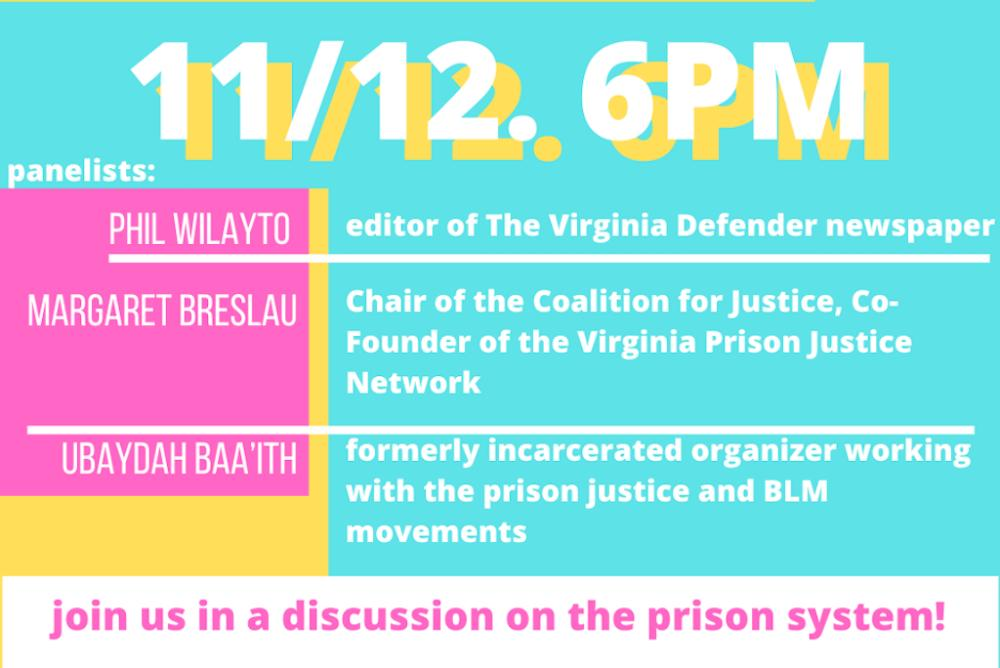 Panel on the Prison-Industrial Complex Poster