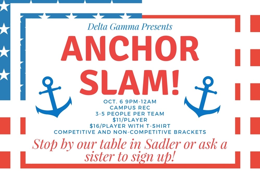 Support Service for Sight at Delta Gamma's Anchor Slam!