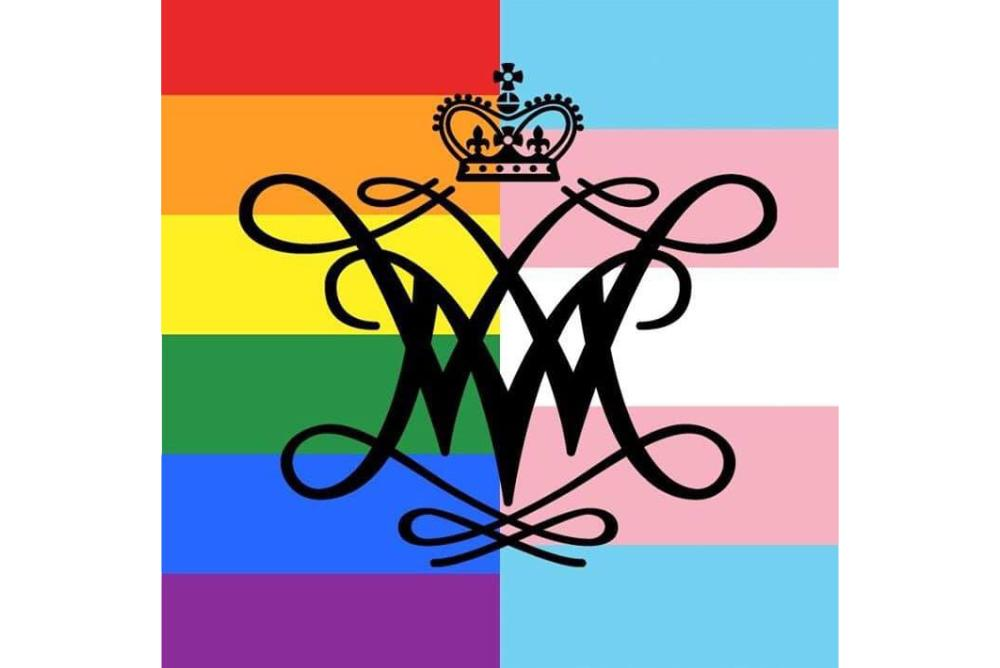 LGBTQ+ W&M Pride Flag