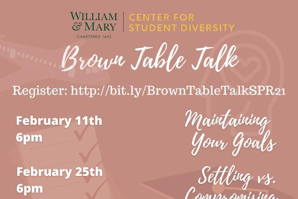 Brown Table Talk is a space for women of color to speak their truth and share their experiences. An exchange of dialogue within a JUDGEMENT FREE ZONE.