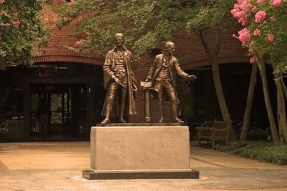 Marshall-Wythe Statue