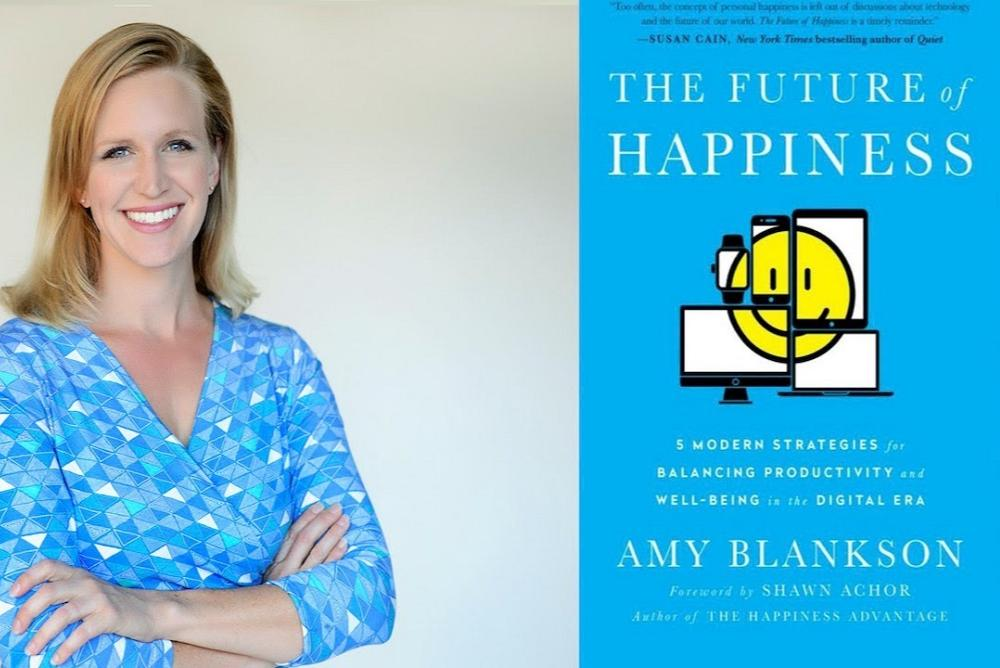 Amy Blankson author of The Future of Happiness