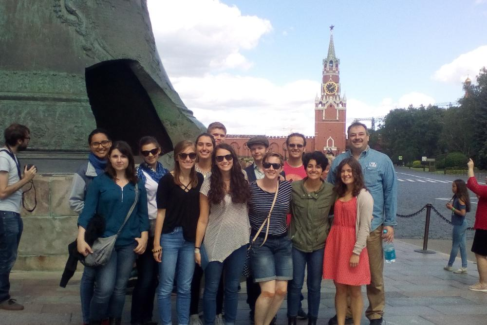 WM Students in Moscow