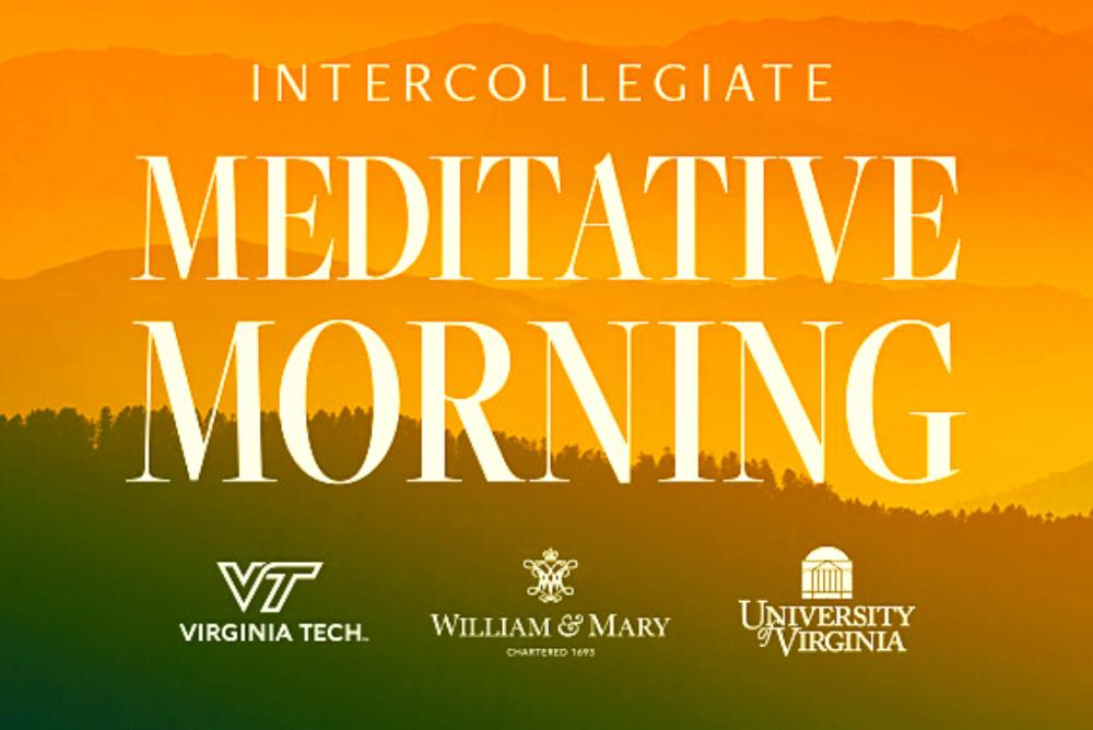 intercollegiate meditative morning