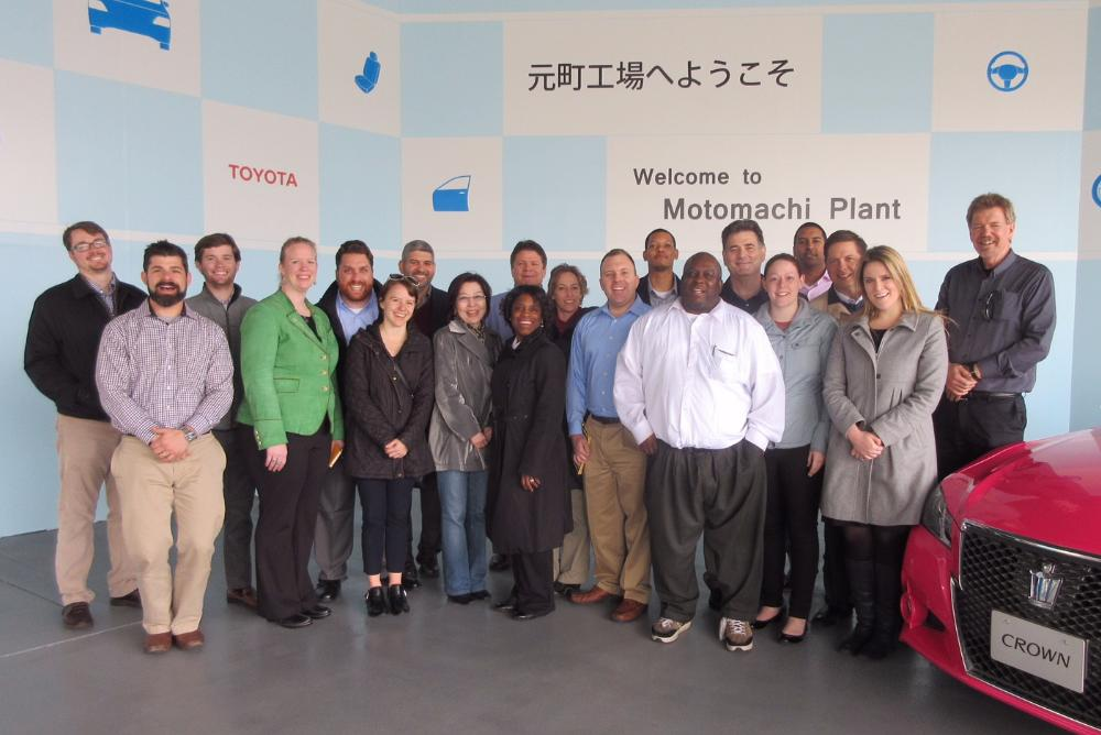 tokyo, toyota, global business immersion,  japan