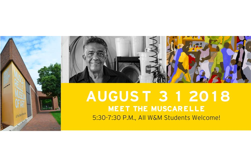 Let the Muscarelle and Greater Williamsburg welcome you back to with early access to our exhibitions