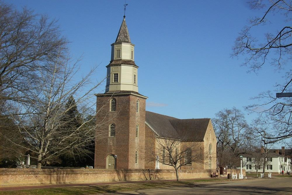 Bruton Parish Church in Williamsburg, VA