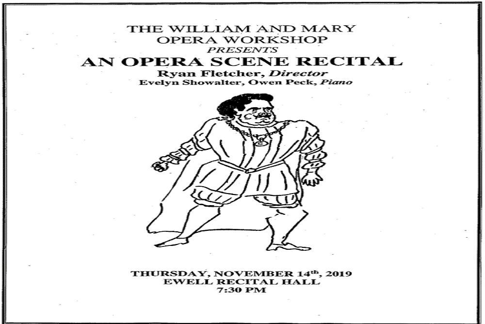 An Opera Scene Recital