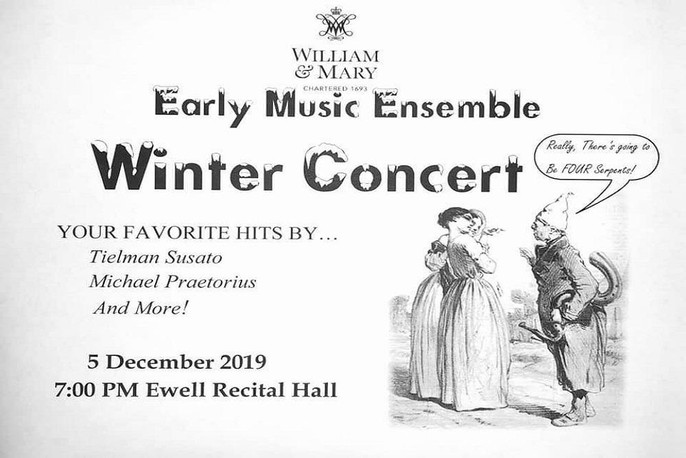 Early Music Ensemble Winter Concert