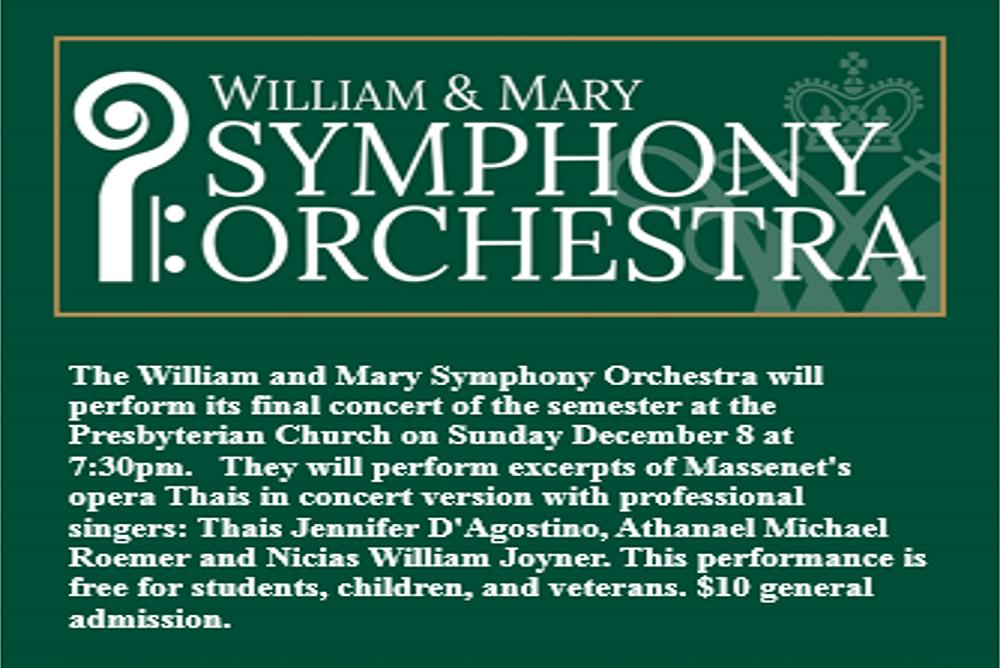 W&M Symphony Orchestra