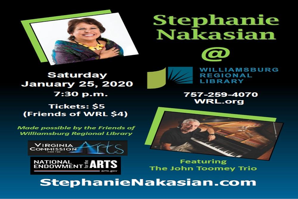 Stephanie Nakasian and the John Toomey Trio