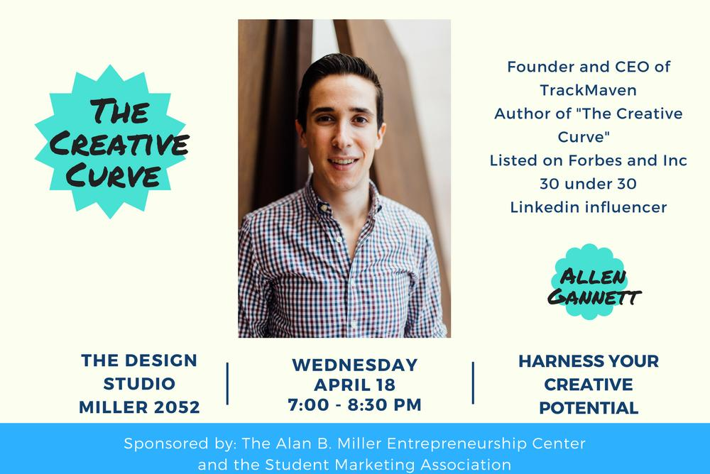 Harness your creative potential. Join Allen Gannett and William & Mary creatives, in a fireside chat