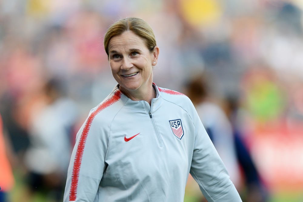 U.S. Women's National Soccer Team Head Coach Jill Ellis '88, L.H.D. '16