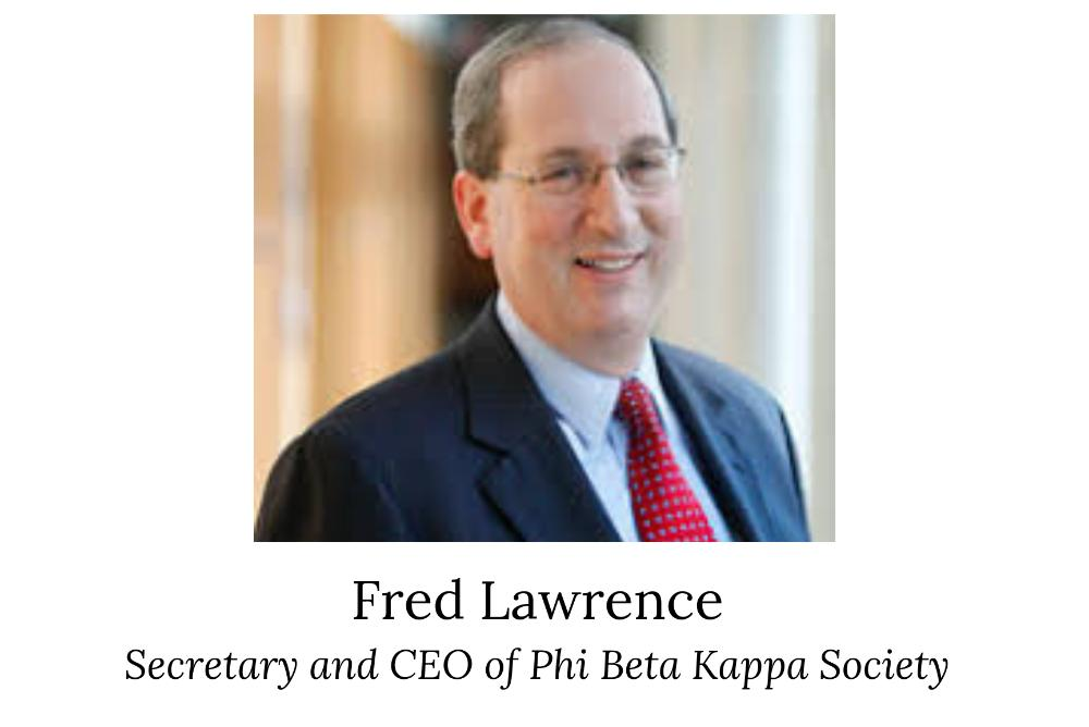 Fred Lawrence, Secretary and CEO of Phi Beta Kappa Society, will be presenting a public lecture entitled Free Expression on our Campuses — the Case for Vigorous Civility