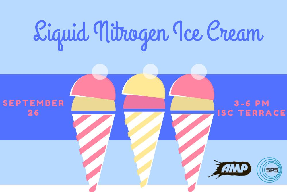 Liquid Nitrogen Ice Cream flier