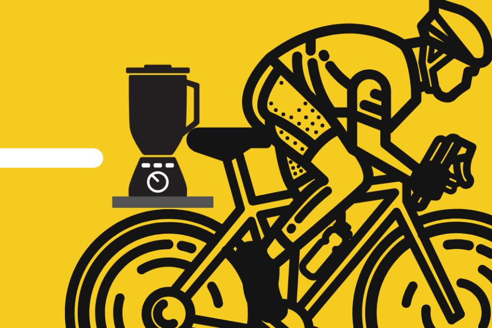 Smoothie bike graphic