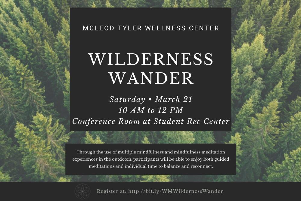 Wilderness Wander