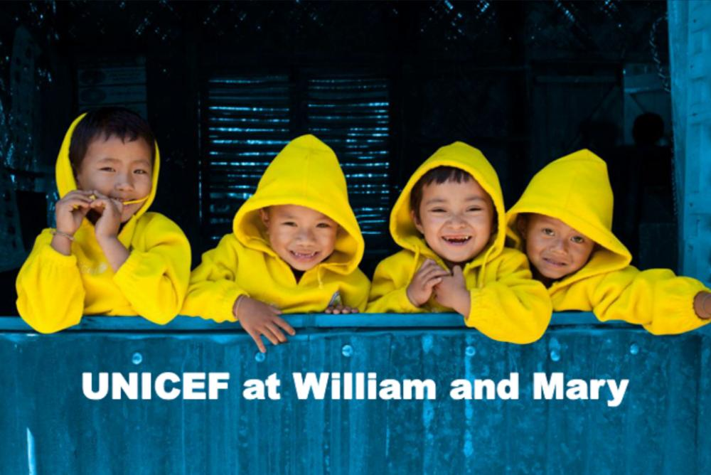 Happy UNICEF children