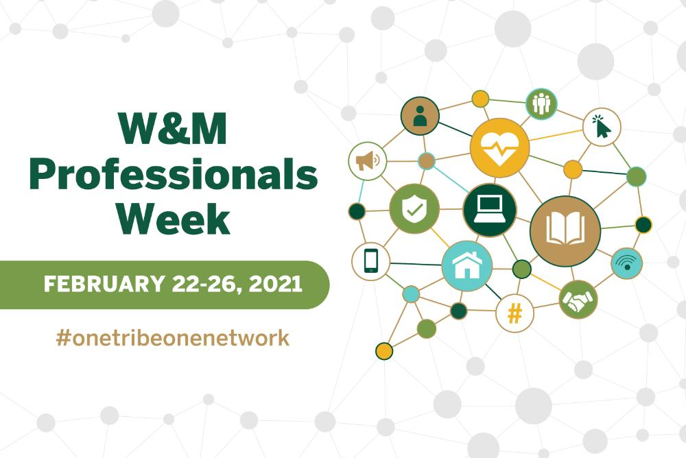 W&M Professionals Week Graphic
