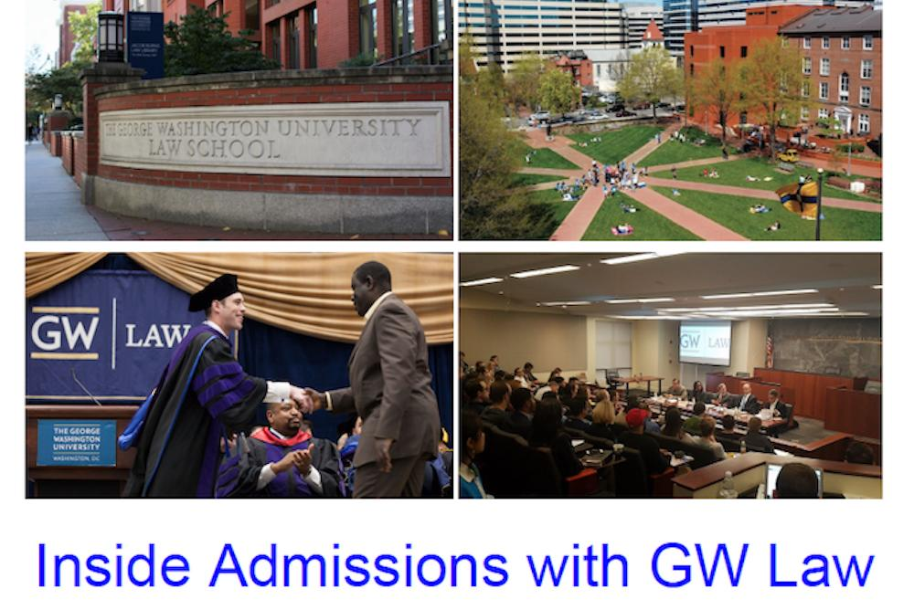 Inside Admissions with GW Law