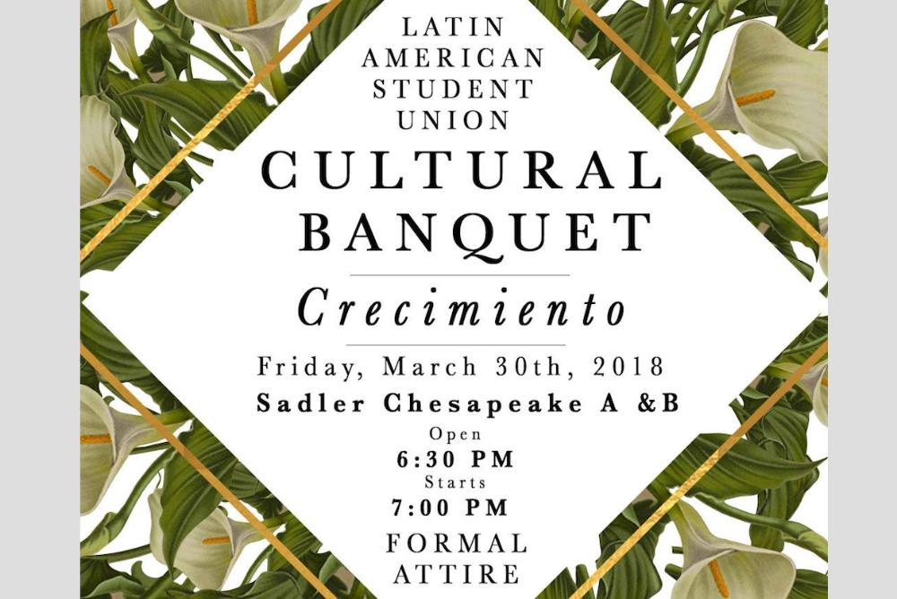 Cultural Banquet Flyer