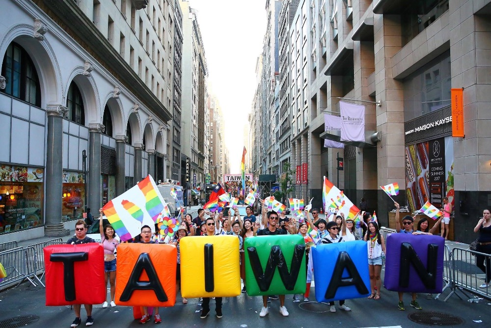 Team Taiwan in New York Pride Parade