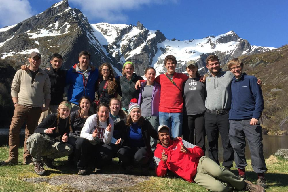 W&M Geologists in Norway