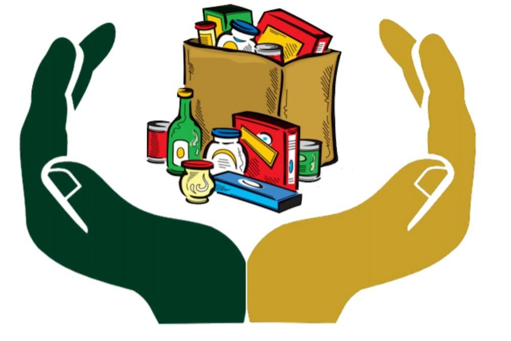 This is the logo we are using for all flyers and communications regarding the Campus Food Pantry.