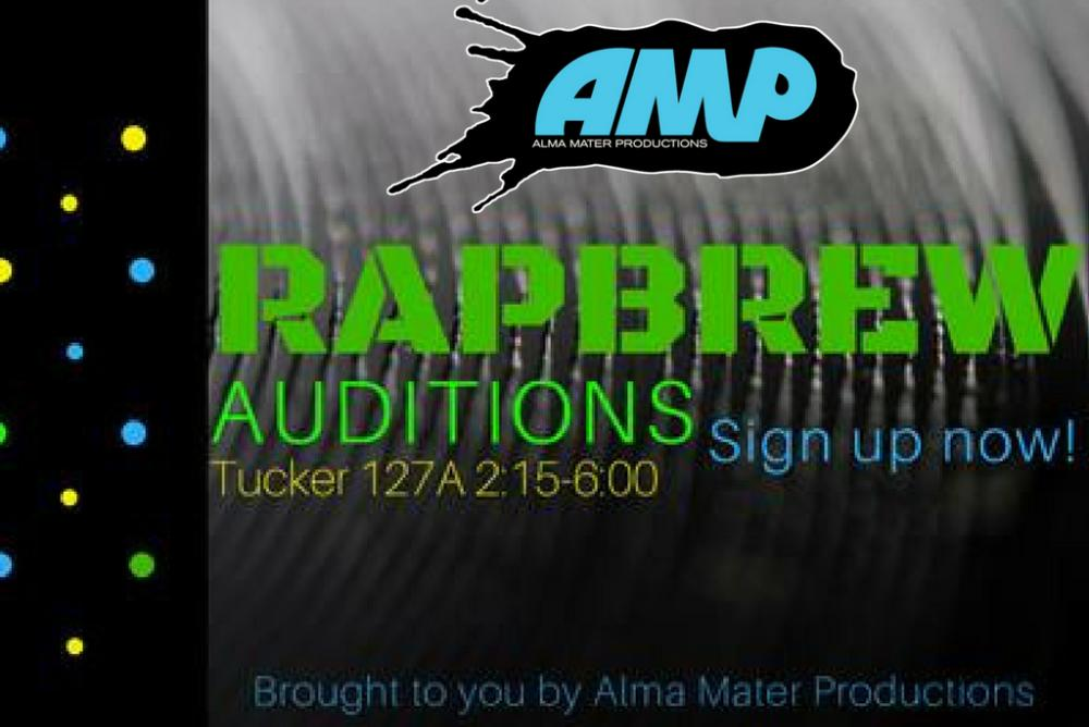 AMP / Rapbrew Auditions