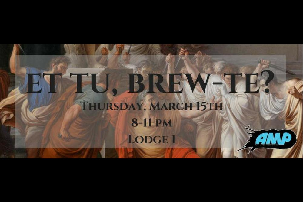 AMP / Et Tue, Brew-Te?