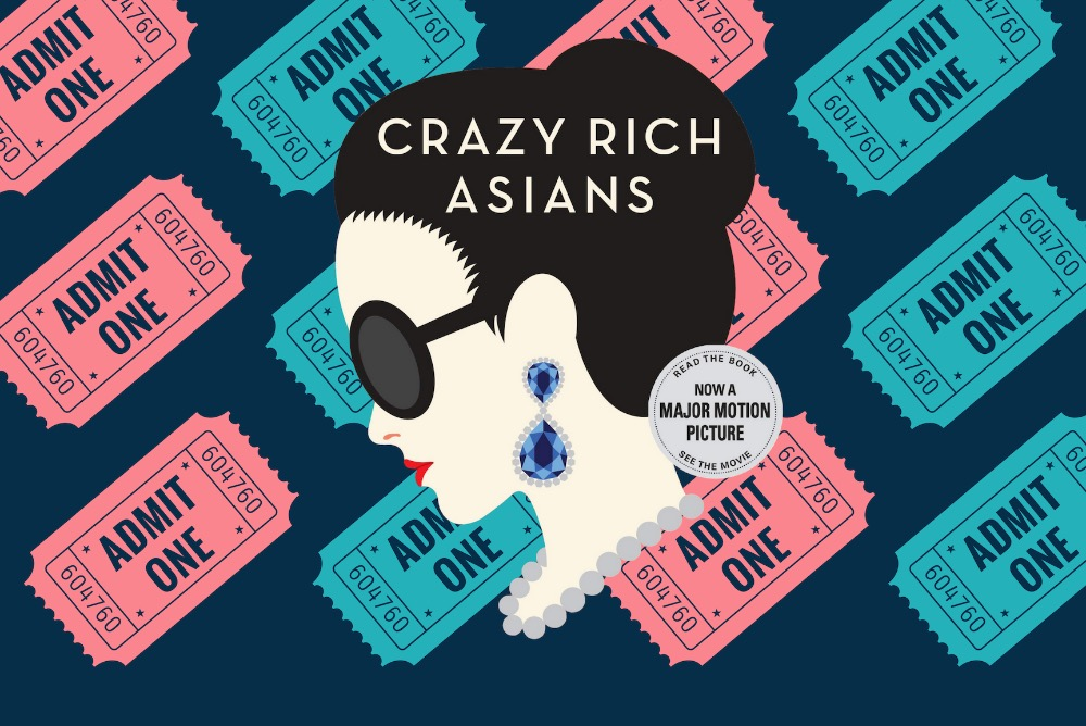 Crazy Rich Asians Movie Night Poster