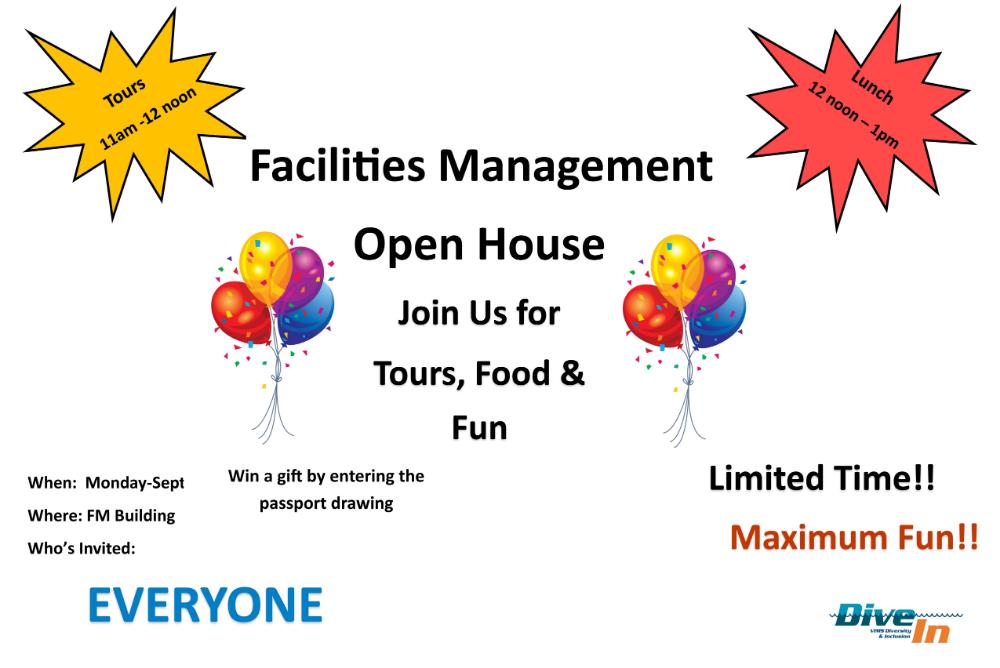 Facilities Management Open House