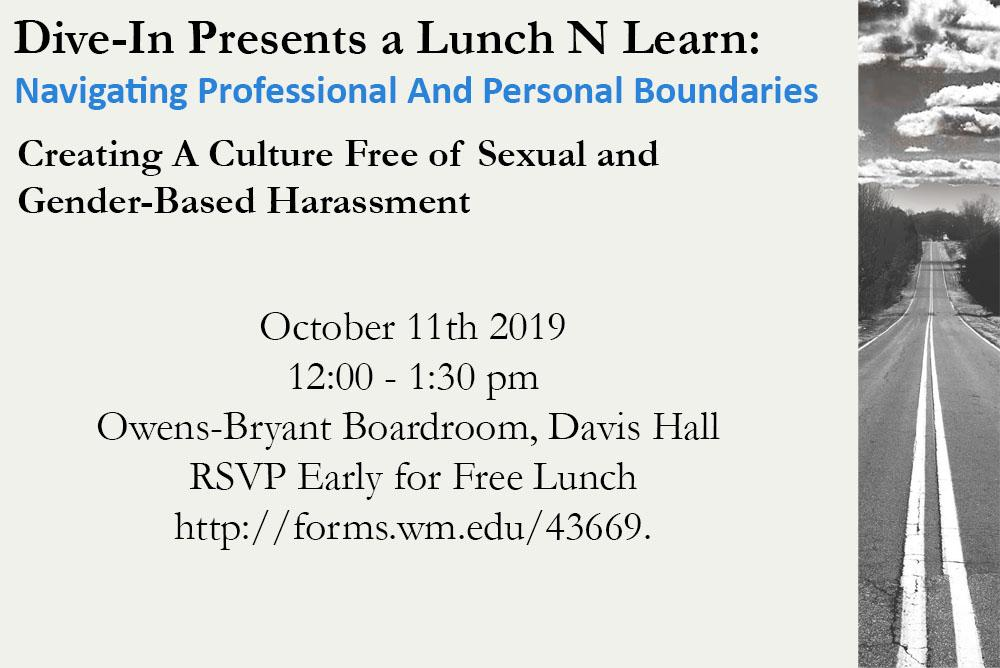 VIMS DiveIn Lunch N Learn 10/11/19.