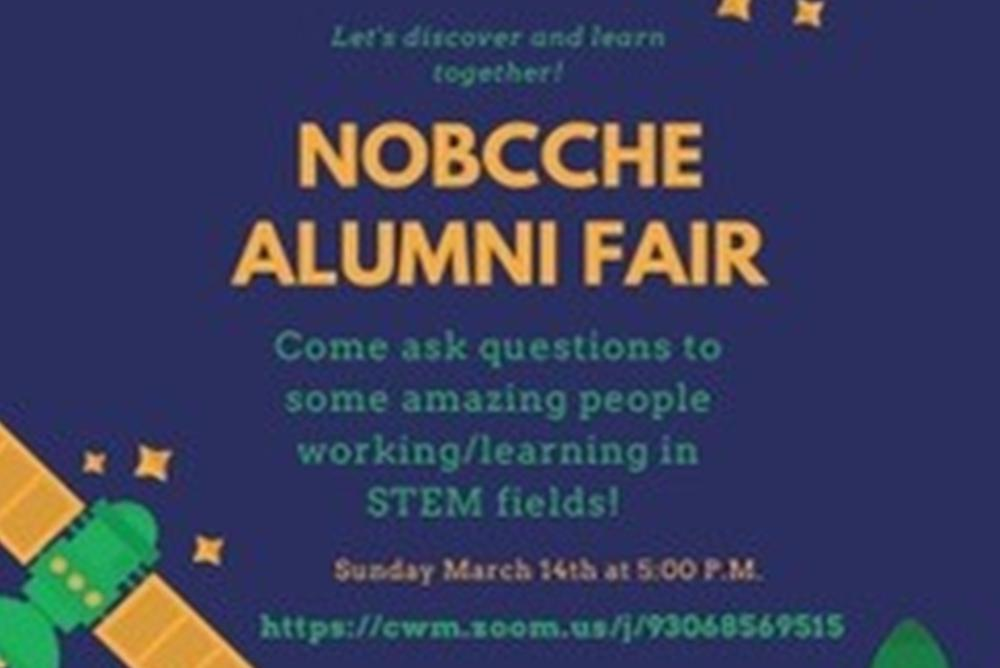 Join NOBCChE for their meeting & meet Alumni working in STEM Careers!