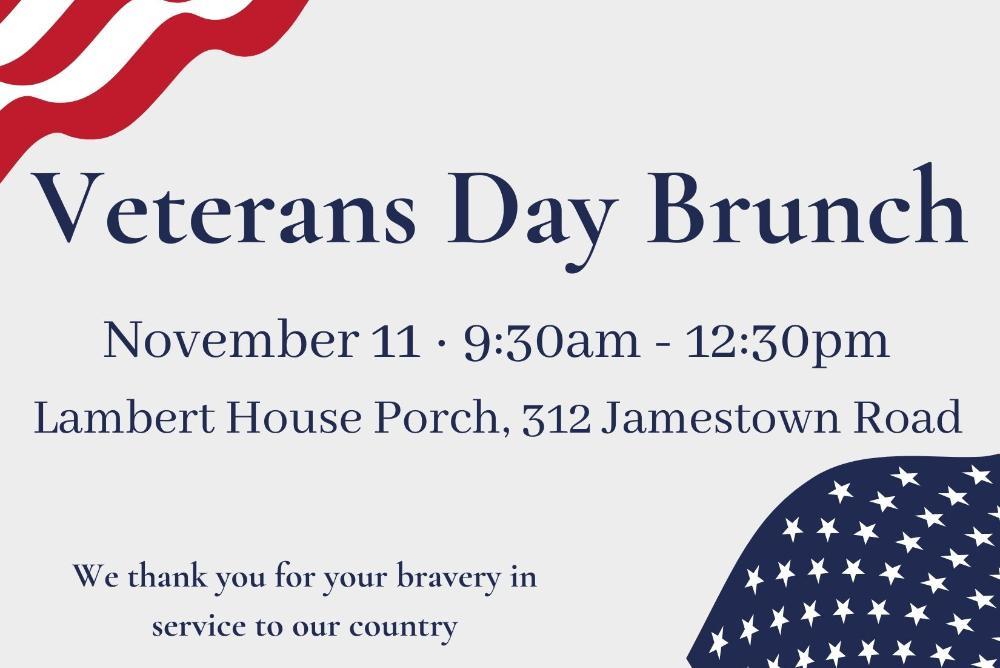 Veterans Day Brunch
