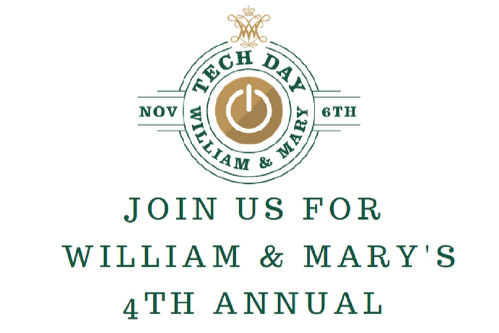 Join us for William & Mary's 4th Annual TechDay