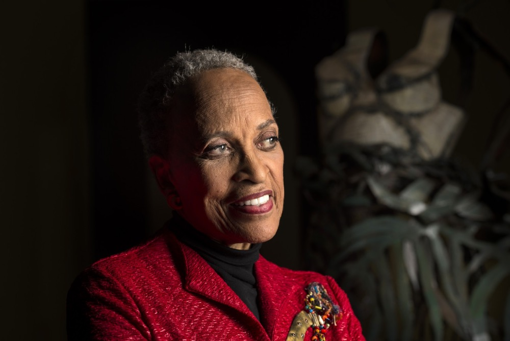 Dr. Johnnetta B. Cole, Director of Smithsonian National Museum of African Art (Photo by Nikki Kahn/T