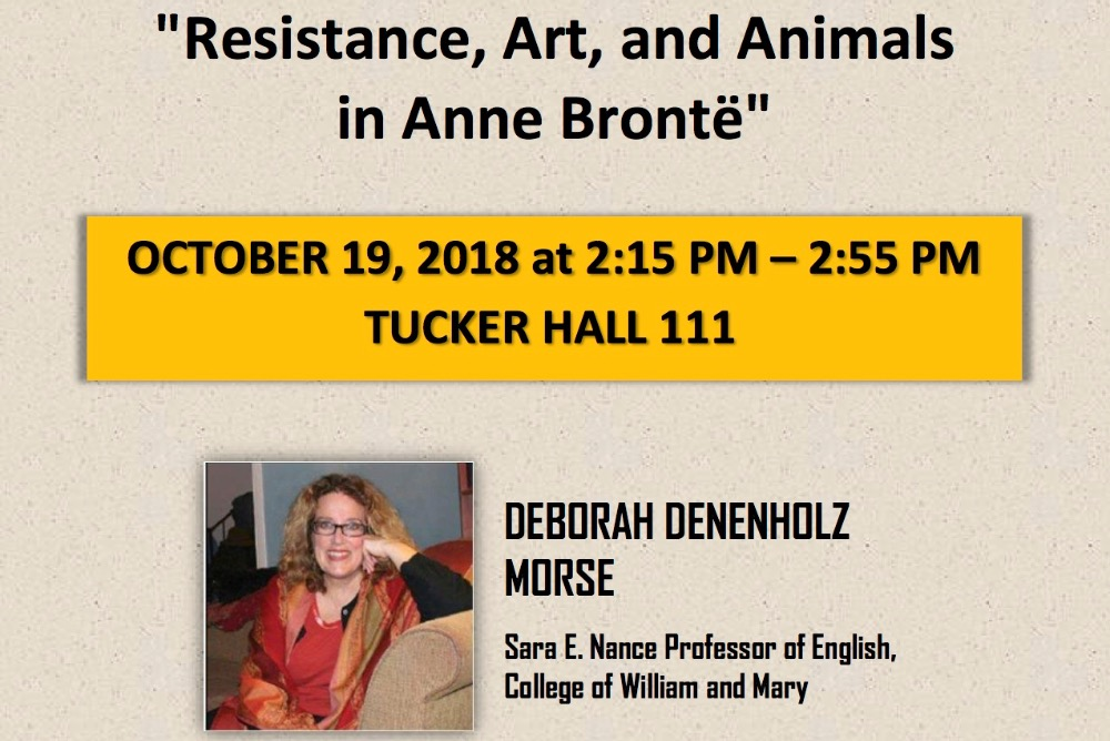 Deborah Denenholz Morse, Sara E. Nance Professor of English