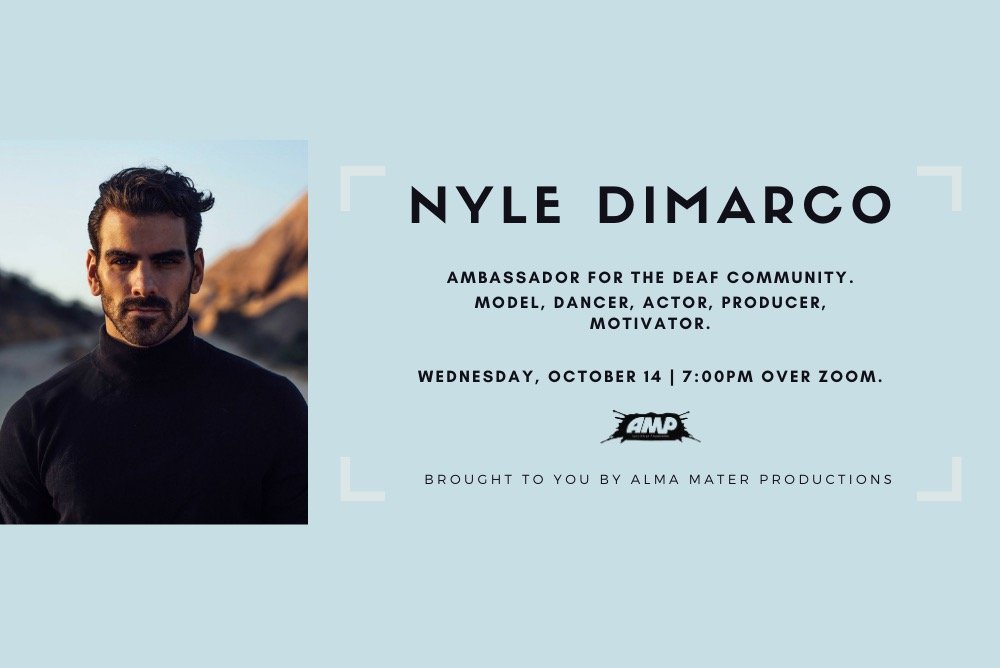 Nyle DiMarco Event Flyer