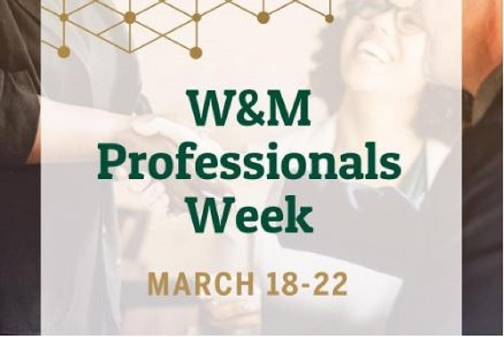 W&M Professionals Week