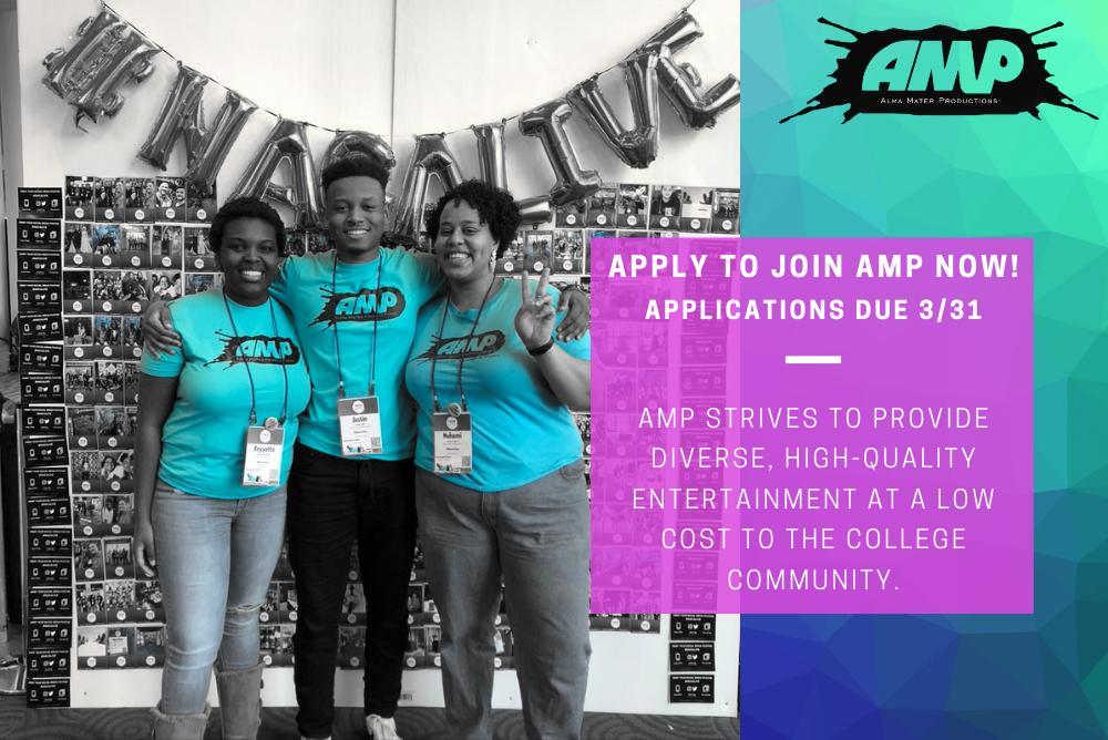 Apply to Join AMP!