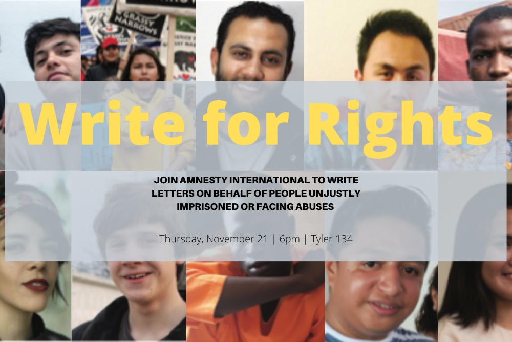 Write for Rights Banner