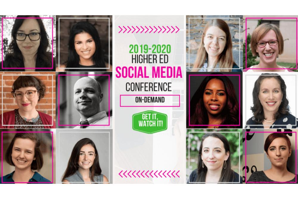 2019-2020 Higher Ed Social Media Conference
