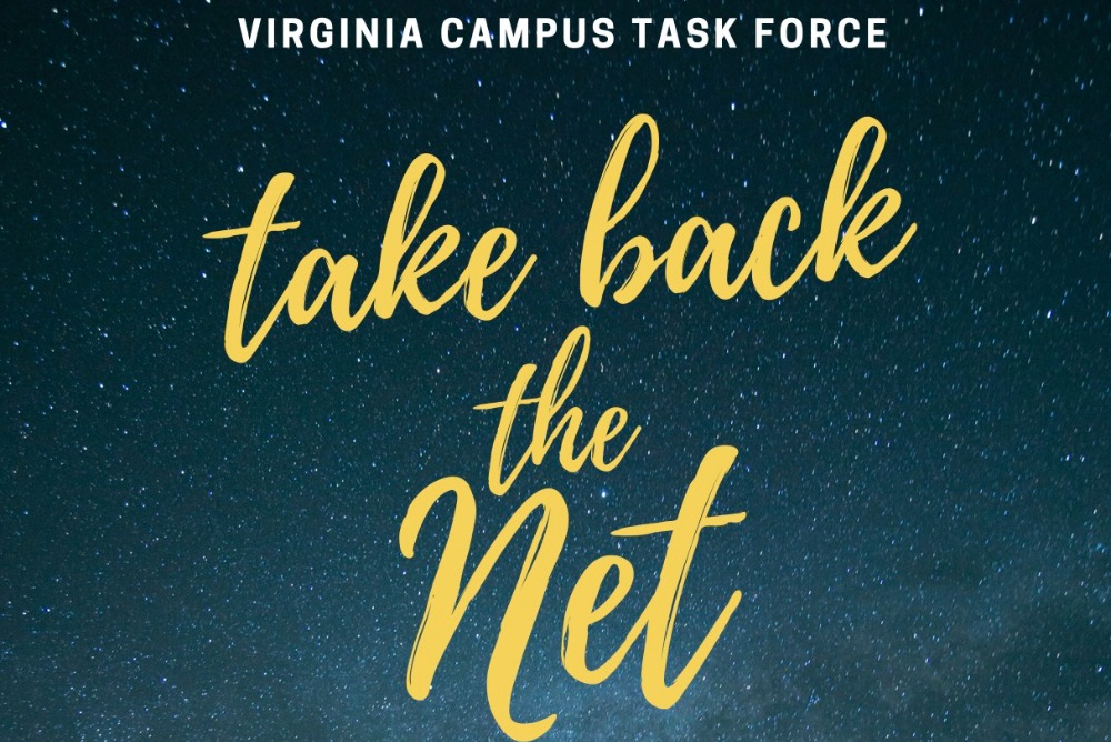 Take Back the Net 2nd Annual Evening of Healing and Support for Survivors.